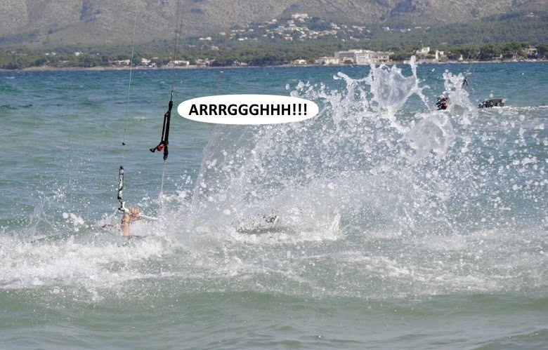 7 curso de kite en Alcudia playa