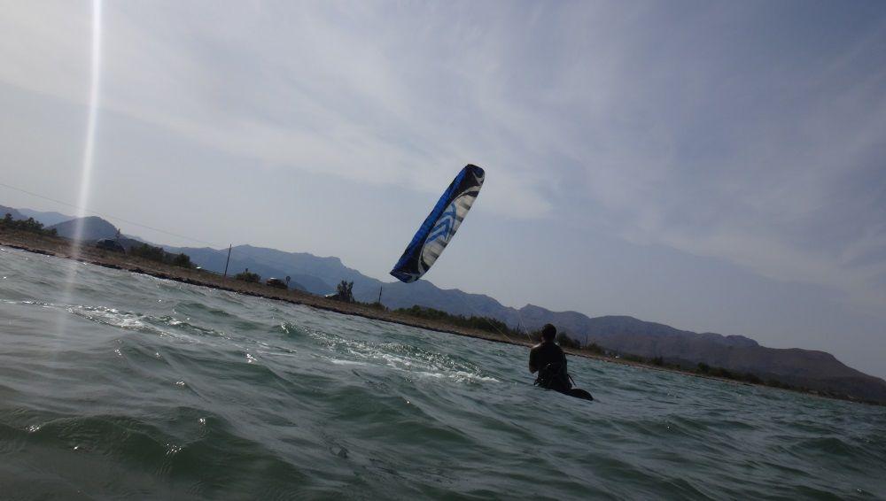 fantastische Kitesurfen auf den Standort der Schule mallorcakiteschool.com