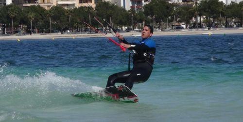 14 aprende a kitesurf en Pollensa Portblue hotel 100 mts despues