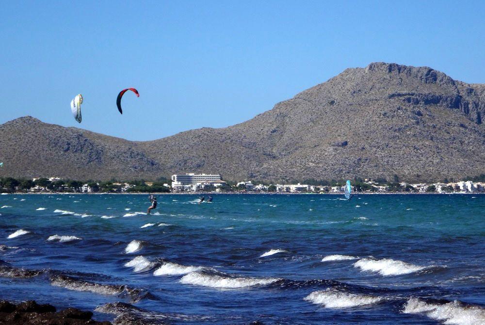 24 tres dias de curso de kitesurfing y ya navego