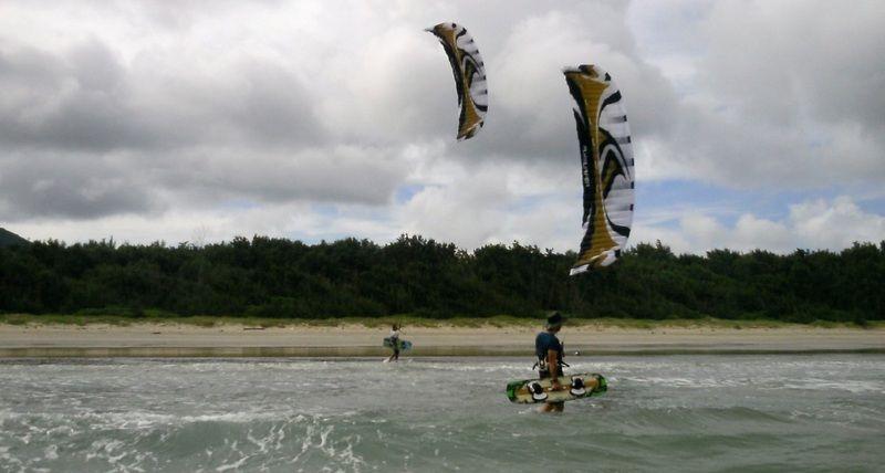 5-kitesurf en Vietnam en-Con-Dao island - cursos de kite en Vung Tau