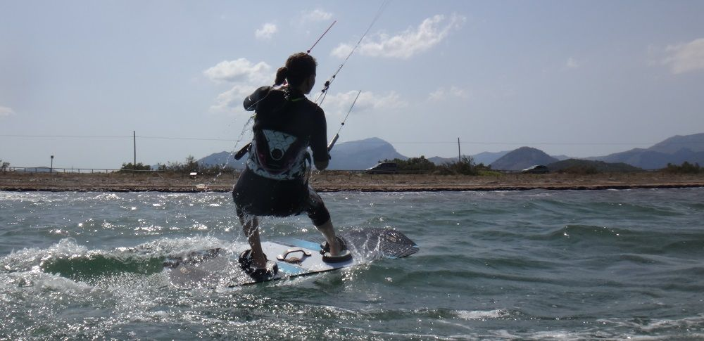 1 cometas para cursos de kitesurf en Mallorca - Peak flysurfer