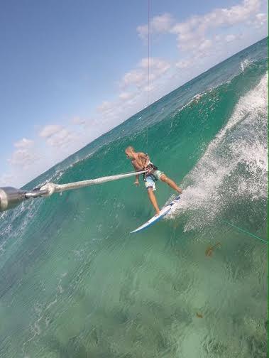 3 kitesurfing en Mauritius