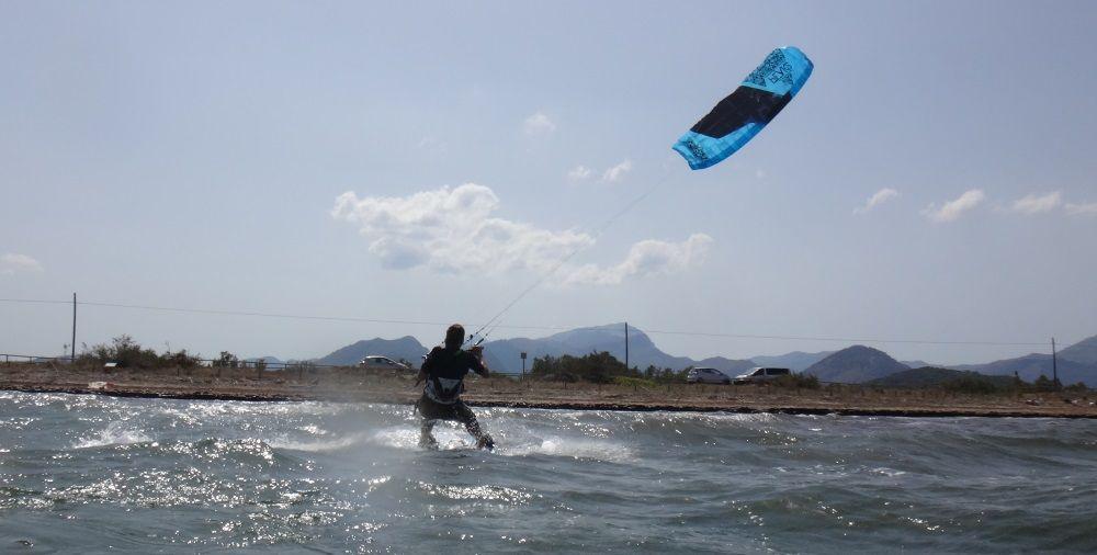 4 - cometas para cursos de kitesurf