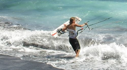 4 kite kids Alcudia - Mallorca kiteschool