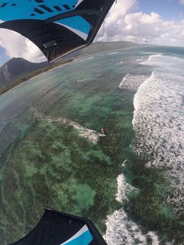 8 kite en invierno Mauritius