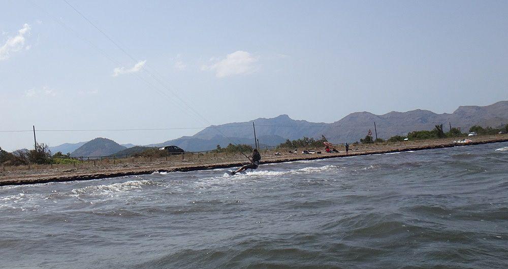 9 volviendo en direccion opuesta Sa marina kite spot Pollensa