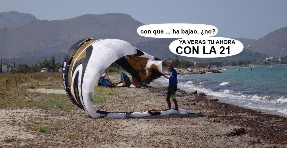 1 cursos de kitesurf en Mallorca - escuela de kite en Pollensa