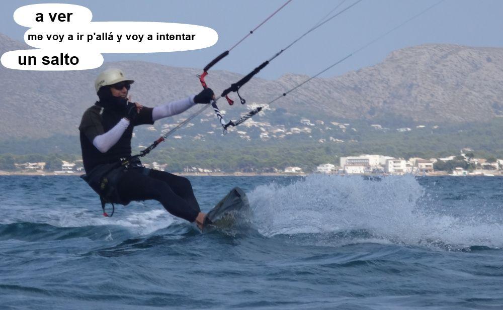 15 cursos de kitesurf en Mallorca - aprende a saltar