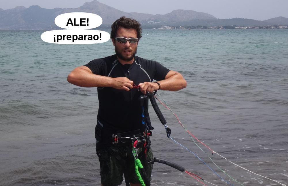 15 kitesurf en mallorca - ahora Josep