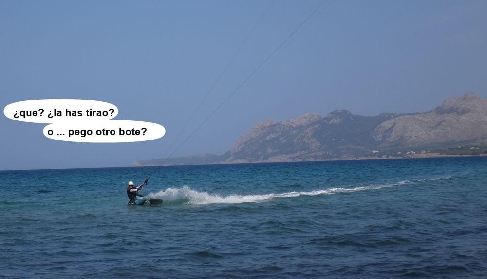 19 cursos de kitesurf en Mallorca - bahia de Pollensa