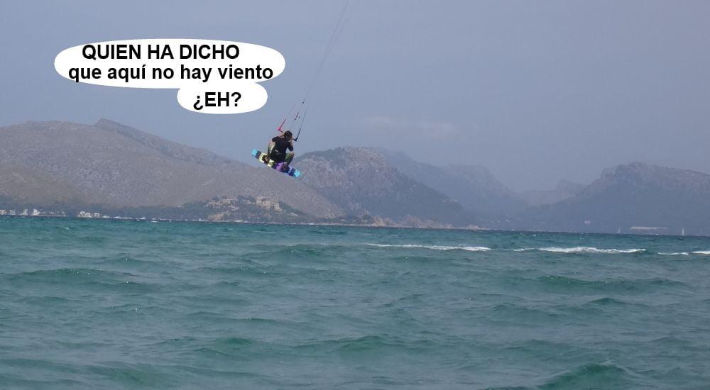 19 kitesurf en mallorca - Sa Marina