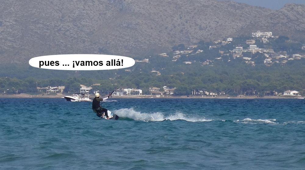 20 cursos de kitesurf en Mallorca - un salto mas
