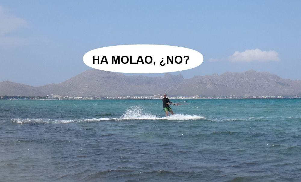 20 kitesurf en mallorca - ha molao, no