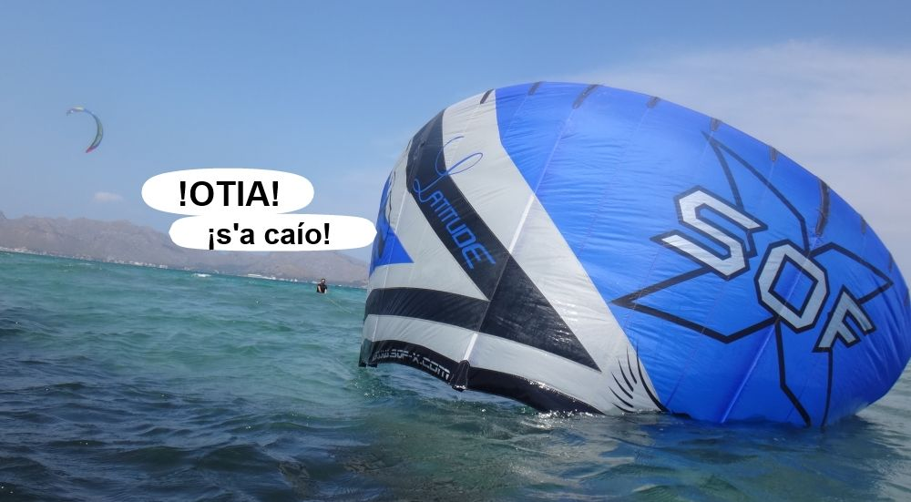 21 kitesurf en mallorca - tubo a flote