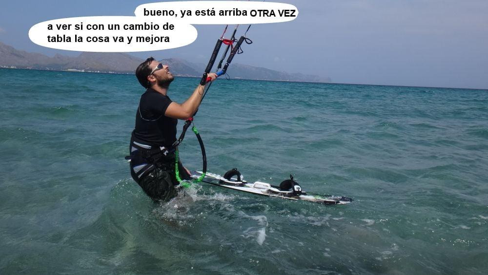 23 kitesurf en mallorca - otros con tubo