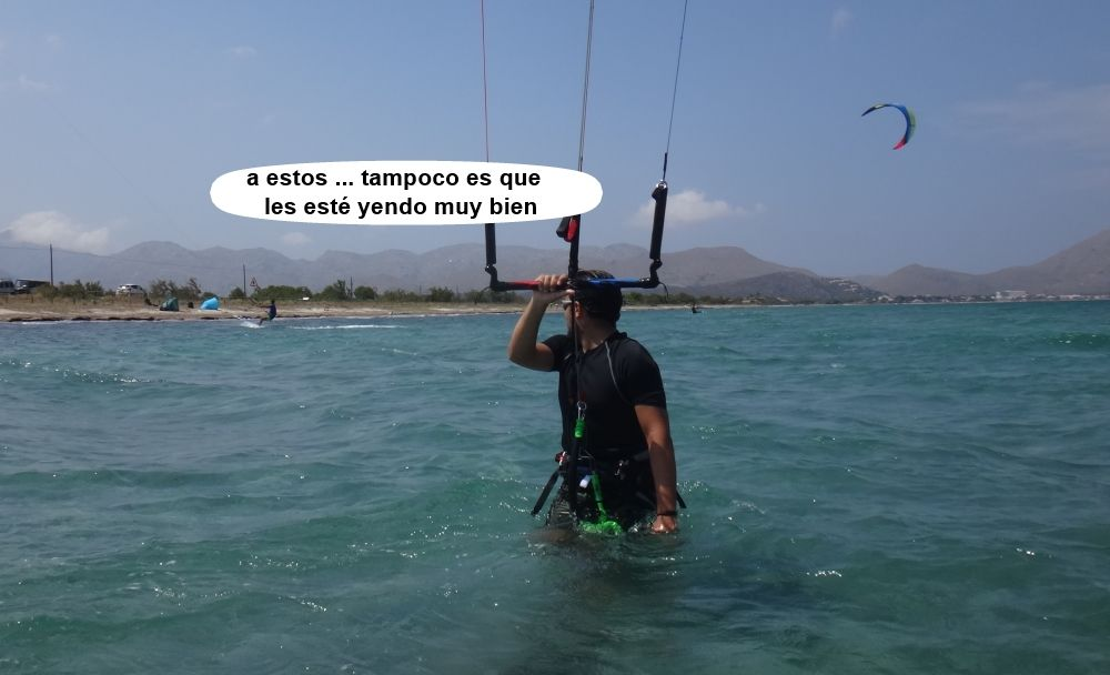 24 kitesurf en mallorca - al lado del bunquer