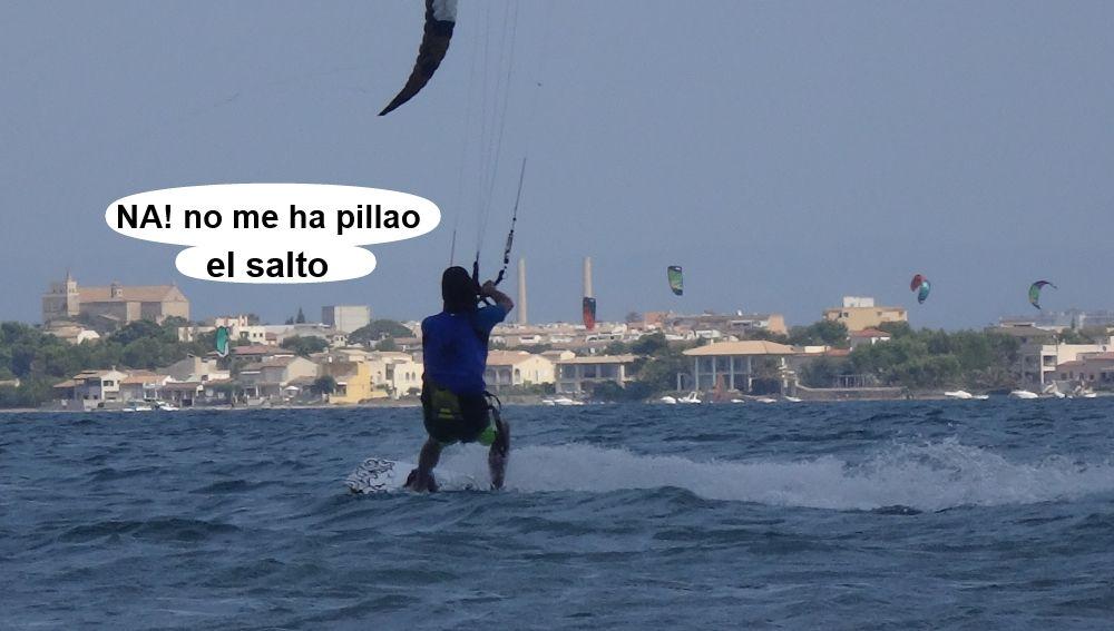 28 cursos de kitesurf en Mallorca - kite session en Agosto