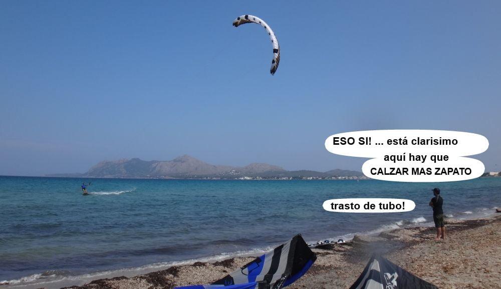 3 cursos de kitesurf en Mallorca - Can Picafort kitesurfing
