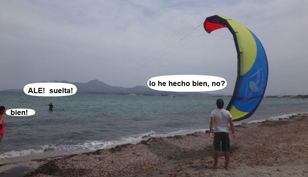 3 kitesurf en mallorca - asociacion aprende a navegar