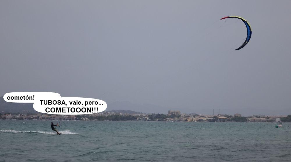 4 kitesurf en mallorca - bahia de Pollensa