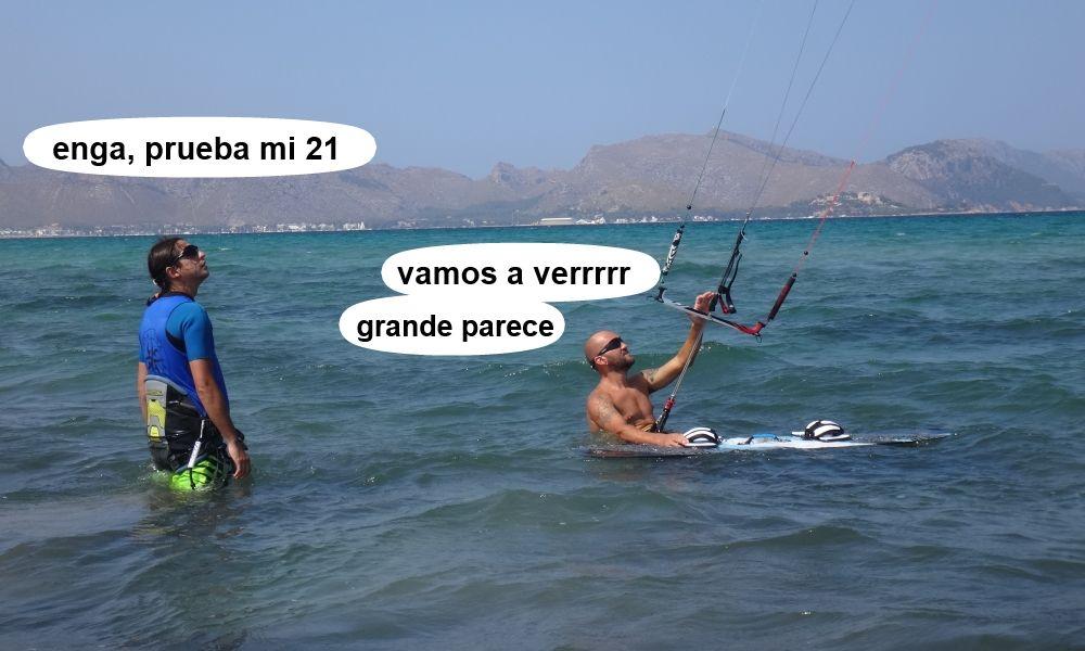 6 cursos de kitesurf en Mallorca - reparacion de kites