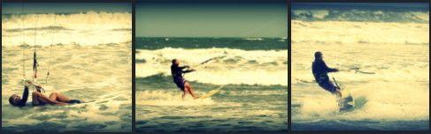 subirse a la tabla de surf - mallorca kiteschool